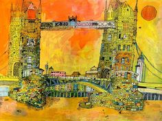 Christopher Tate Art - London Gallery | Christopher Tate Art | Cornish Artist London, Gallery, Illustration, Artist, Artwork, Painting, Work Of Art, Roof Rack, Auguste Rodin Artwork