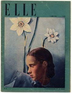 ELLE N°16 du 5 Mars 1946 Hermès, Line Vautrin, Lola Prussac