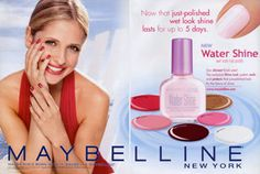 Maybelline Ad Cruel Intentions, Retro Makeup, Sarah Michelle Gellar, Vintage Beauty, Maybelline, Blush, Ads, Vintage Makeup, Rouge