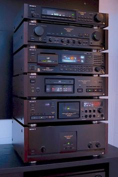 Sony ES electronic stack