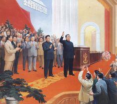 Propaganda Art, I Wallpaper, North Korea, Soviet Union, Revolution, Asia, Politics, Korean, Statue