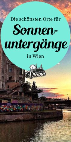 Alte Donau, Donaukanal & Co - hier kannst du in Wien die schönsten Sonnenuntergänge genießen. Packing Tips For Travel, Travel Goals, Places To Travel, Travel Destinations, Solo Travel, Vienna, Wonders Of The World, Austria, The Good Place