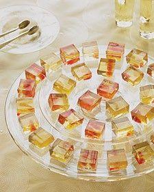 Wine jello shots