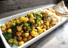 Veganmisjonen: Krydderstekte kikerter med paprika og persillerot