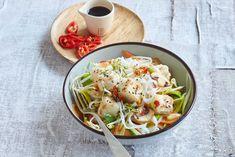 Tofu, Pasta Salad, Food Porn, Food And Drink, Ethnic Recipes, Asia, Crab Pasta Salad, Treats