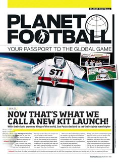 São Paulo FC launchs jersey into space