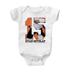 Kids Cole Hamels Clutch B Onesie from 500 LEVEL. This Cole Hamels Onesie comes in multiple sizes and colors. Ryan Getzlaf, Johnny Gaudreau, Onesies, Trending Outfits, Kids, Baby, Clothes, Fashion, Young Children