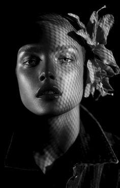 Natalia Vodianova #photography #pattern