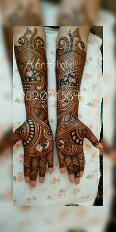 Indian Henna Designs, Wedding Mehndi Designs, Dulhan Mehndi Designs, Best Mehndi Designs, Mehndi Designs For Hands, Mehendi, Stylish Mehndi Designs, Beautiful Mehndi Design, Mehndi Design Pictures