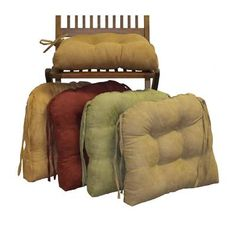 Give your dining room a welcome and comfortable update with the Blazing Needles U-Shape 16 in. Micro Suede Dining Chair Cushions with Ties - Set of Kitchen Chair Cushions, Adirondack Chair Cushions, Outdoor Lounge Chair Cushions, Outdoor Dining Chairs, Patio Chairs, Dining Room Chairs, Seat Cushions, Office Chairs, Home