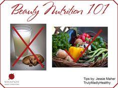 Beauty Nutrition 101  www.MackenzieImage.com