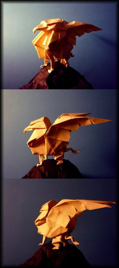 Origami Gryphon by ~Richi89 on deviantART