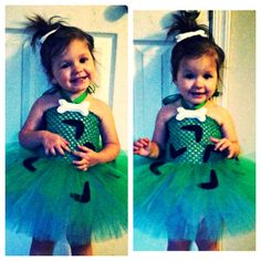 Pebbles the flinstones tutu dress newborn4 by TutusByChrissy, $35.00 could do Tristan in bam bam!