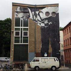 Work by @jr • Photo by @flaviosamelo • Berlin , Germany