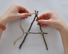 Nature Crafts Make Your Own Stick Alphabet Forest School Activities, Activities For Kids, Nature Activities, Reggio Emilia, Make Your Own, Make It Yourself, How To Make, Art For Kids, Crafts For Kids
