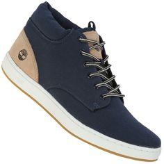 Centauro - Tênis Timberland Canvas Deck Chukka Masculino - Centauro Trendy Shoes, Casual Shoes, Exclusive Shoes, Fashion Shoes, Mens Fashion, Tenis Casual, Latest Sneakers, Cross Training Shoes, Timberlands Shoes