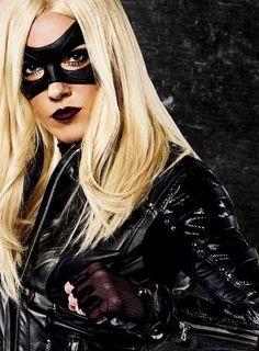 Laurel Lance as Black Canary - season 3 Arrow Black Canary, White Canary, Arrow Oliver, Arrow Cw, Team Arrow, Dc Batgirl, Black Siren, Arrow Tv Series, Dinah Laurel Lance
