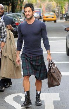 hot guy kilt + cardigan - Google Search