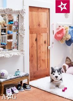 All American Girl Dolls, American Girl House, Ag Doll Crafts, Toys Market, Doll Storage, Ag Dolls, Hadley, Doll Furniture, Doll Stuff