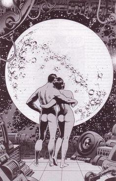 The Futuristic Age of Retro Sci-Fi Art And Illustration, Illustrations, Sci Fi Kunst, Comic Kunst, Arte Sci Fi, Sci Fi Art, Art Pop, Fantasy Kunst, Fantasy Art