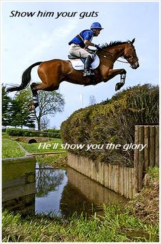 Eventing. It's not for the faint-of-heart.