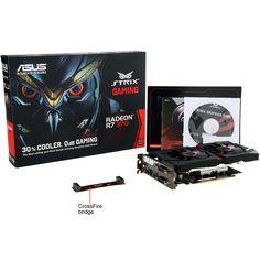 Review: Asus Radeon R7 370 Strix 4 GB - preço de intermediária e desempenho de top de linha - http://www.showmetech.com.br/analise-asus-radeon-r7-370-strix-4-gb/