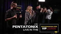 Pentatonix perform live inside the WesternUnion com VIP Lounge Can't Sleep Love