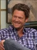 Blake Shelton-I do not enjoy the country music--but dang he's hot as hell :P