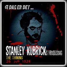 Stanley Kubrick ville være blevet 88 år i dag.  http://www.mxrket.dk/juli26-stanleykubrik.html
