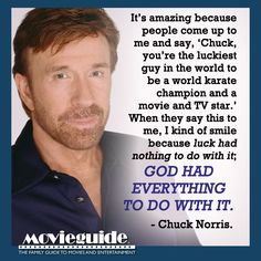 Chuck Norris jokes are great! But this quote is definitely no joke! ;)