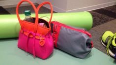 Skimp bags at the gym. Get your workout on! #skimp #bag #traningbag #yoga #fashion #workout #gym