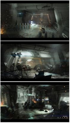 Alien Isolation Concept Art 1