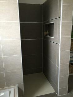 douche l 39 italienne avec mosa que au sol d co maison pinterest. Black Bedroom Furniture Sets. Home Design Ideas