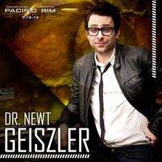 #CharlieDay is Dr. Newt Geiszler. #PacificRim