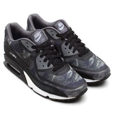Nike Air Max 90 Premium Tape Black/Cool-Grey/White by Atmos