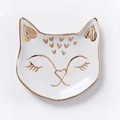 Cat Ring Dish   west elm