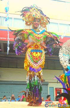 Cagayan de Oro Carnival Parade Clash of Festive Acts and Carnival Queens National High School, Carnival, Queen, Activities, Cagayan De Oro, Party, Carnavals