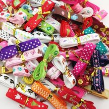 "20Y 3/8"" Mix Style Printing Grosgrain Ribbon Bows Wedding Party Deco Craft RG002(China (Mainland))"