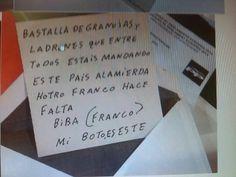 """""""Basta"""" va separado de """"ya"""" con """"y"""". """"Otro"""" es sin """"h"""". """"Viva"""" no es con """"b"""". """"Voto"""" es con """"v""""."""