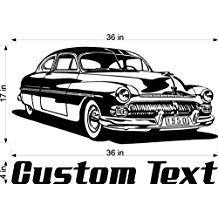 Hard Top Buick Car Wall Decals Stickers Man Cave Boys Room Decor 3