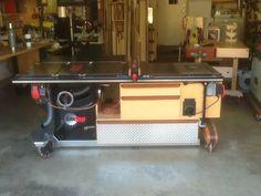 Table saw build - by Woodnwool @ LumberJocks.com ~ woodworking community