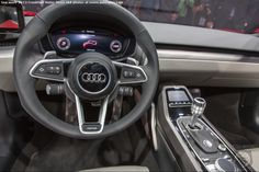 FRANKFURT MOTOR SHOW: If YOU Like The Audi nanuk concept's Outside, Just Wait Until You See Its INTERIOR