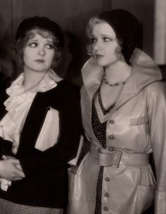 Hot Hat-Headed Women ☆ Clara Bow and Dixie Lee ☆ No Limit (1931) ☆
