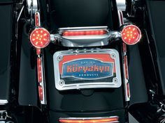 Rear Fender Strip Lights Chrome - Kuryakyn - Le Rock - Parts & Accessories for Harley-Davidsons
