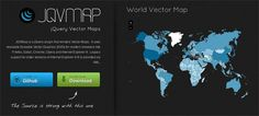 jQuery: Vector Maps With jQuery – JQVMap.