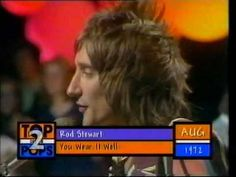 Rod Stewart - You Wear It Well - TOTP2 1972 Live  - Never a Dull Moment album 1972