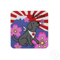 Black Labradors Japan Rising Sun