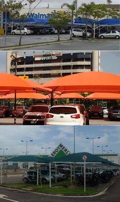 Sombreadores e coberturas para estacionamento   Guarulhos Sombreadores tel. 11 5891-0252