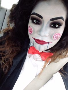 Jigsaw Costume makeup #saw #halloween #makeup #jigsaw | My Style ...