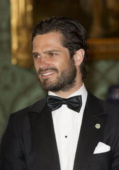 Swedish Prince Carl Philip attends the dinner event at the Royal Palace of Stockholm, 2014-05-16